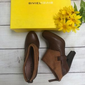Biviel BV3151 Brown Ankle Boots